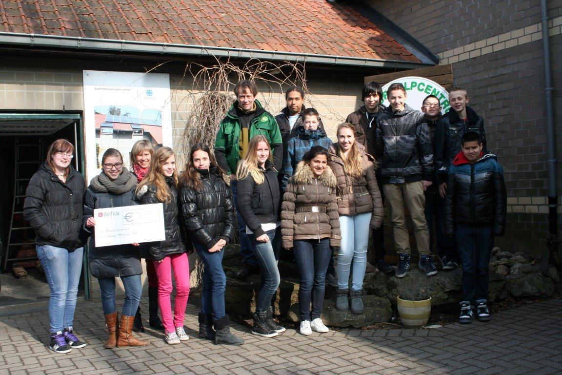 Campus Mercurius Lommel steunt Natuurhulpcentum!