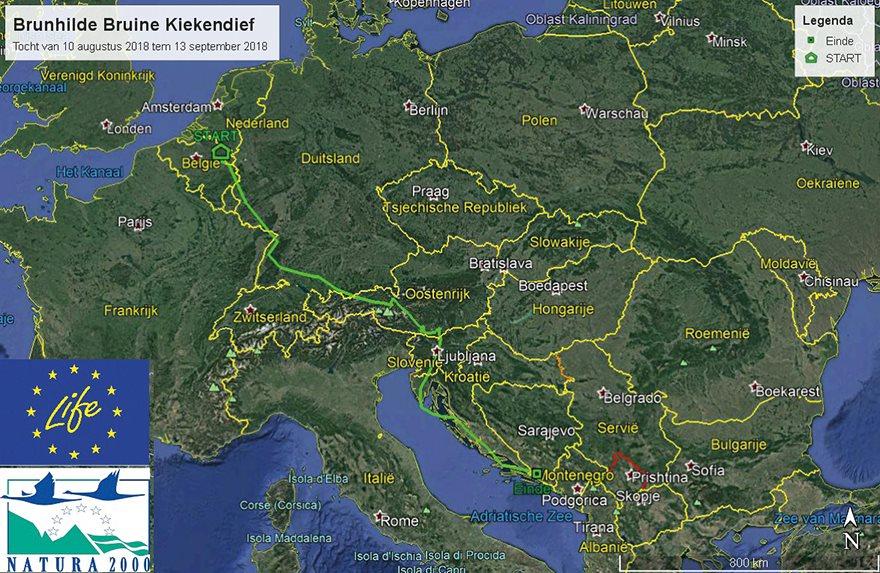 Brunhilde verkent de Balkan...